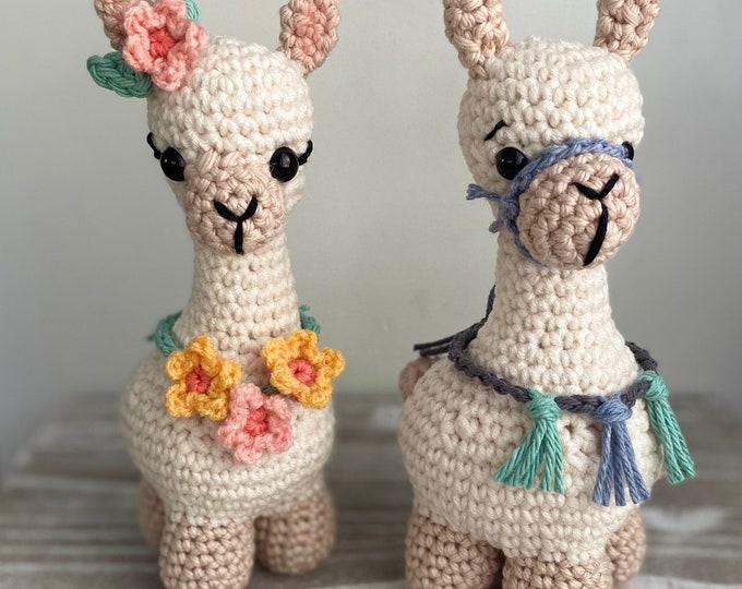 Llama Crochet Pattern