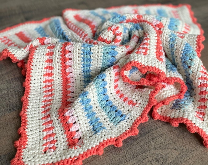 Little Dreamer Baby Blanket Crochet Pattern