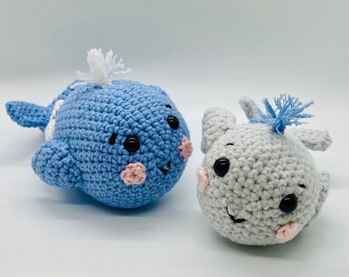 Whale - Crochet Pattern