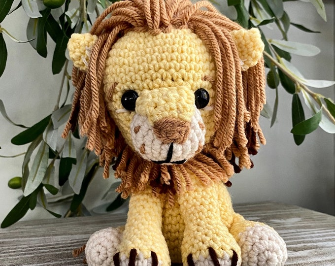 Lion Crochet Pattern