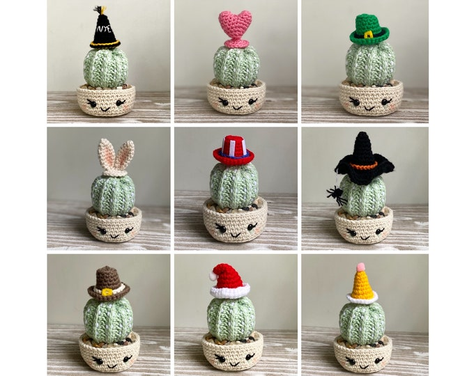 Holiday Toppers Crochet Pattern