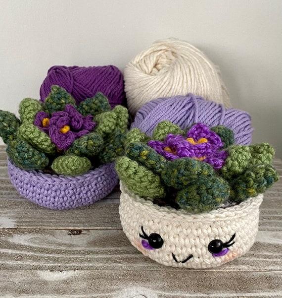 African Violet Crochet Pattern
