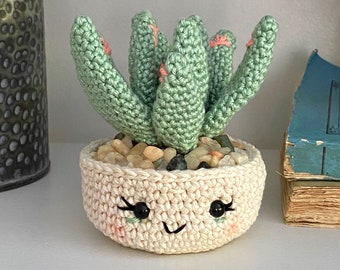 Aloe Vera Plant Crochet Pattern