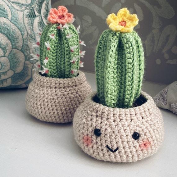 Fence Post Cactus Crochet Pattern