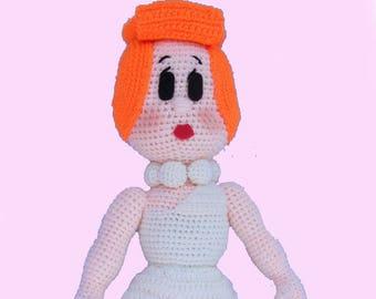 Wilma Flintsone inspired Amigurumi pattern
