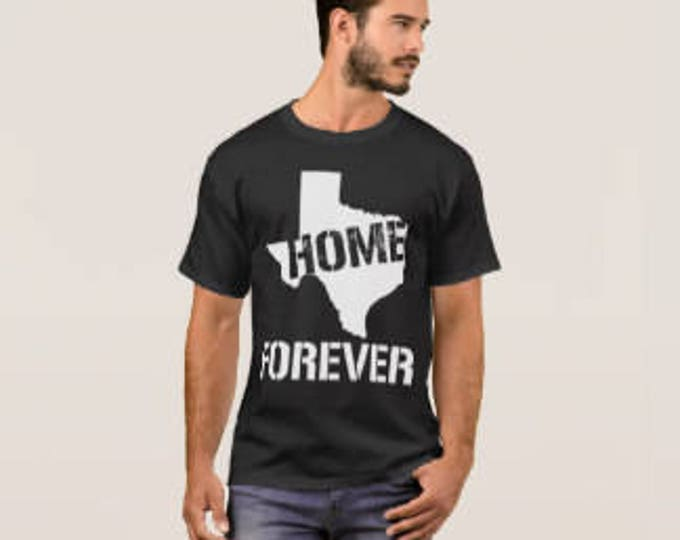 "Men's Texas T-shirt ""Home Forever"""