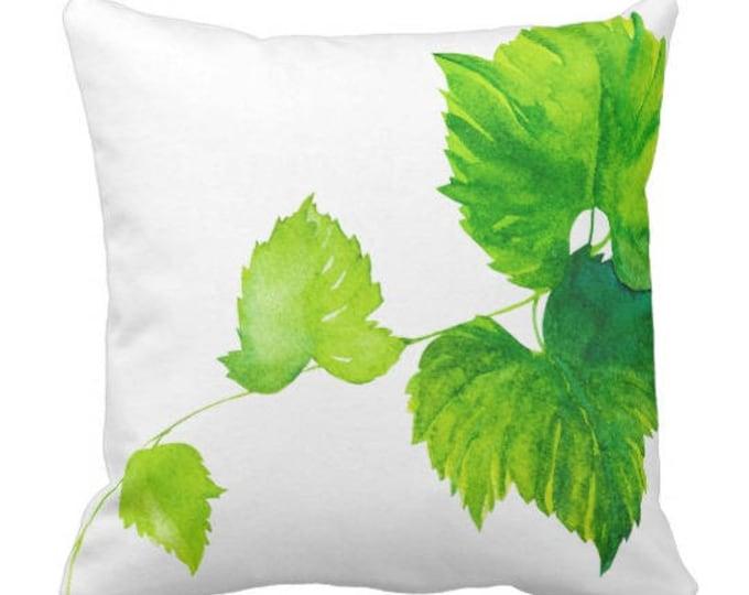 Mix and Match Vineyard Pillows Green Grapes