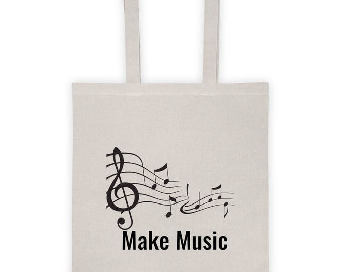"Tote Bag ""Make Music"""