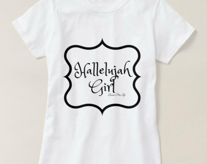 "Women's T-shirt ""Hallelujah Girl"""