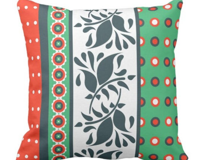Mix and Match Indie Pattern Pillow