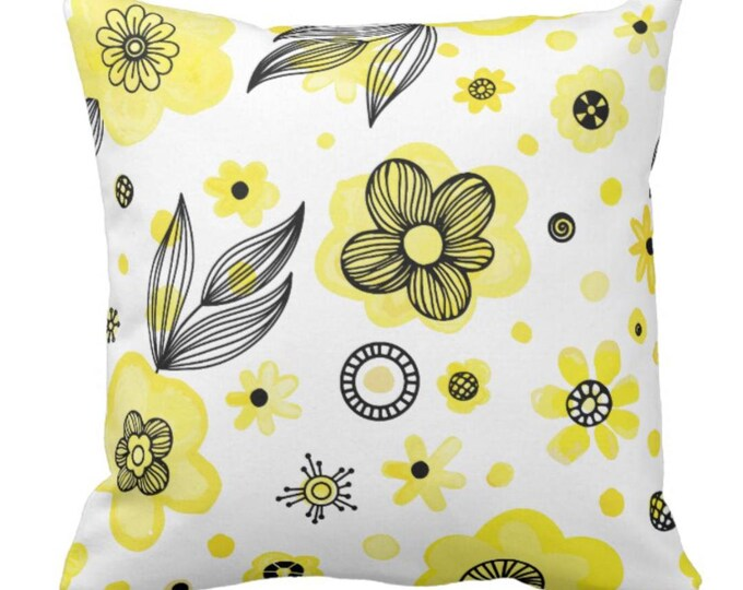"""Throw Pillow """"She Gathers Flowers"""""""