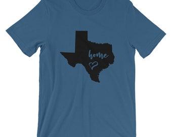 Bella Canvas Unisex Texas Home T-Shirt