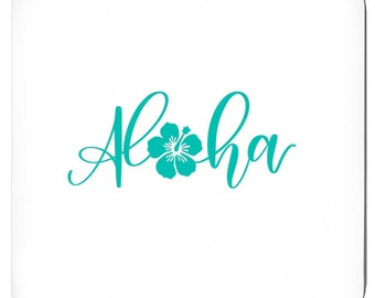 Hawaii, Aloha Tropical Coasters, Set Of 4,