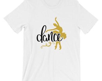 Bella Canvas Unisex Dance T-Shirt Ballet