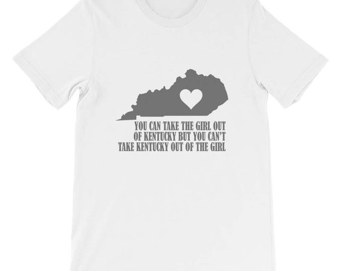 Bella Canvas Kentucky Girl Short-Sleeve Unisex T-Shirt