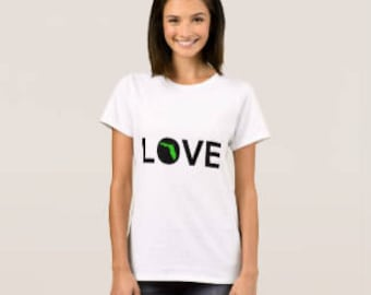 Women's T-shirt Love Florida