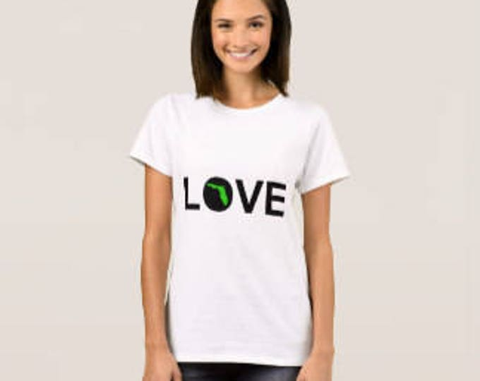 Women's T-shirt Love Florida
