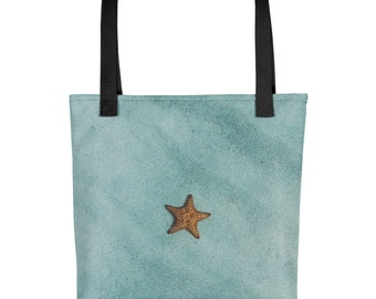 Beach Tote Bag Starfish