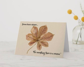 Greeting Card For Everything There Is A Season