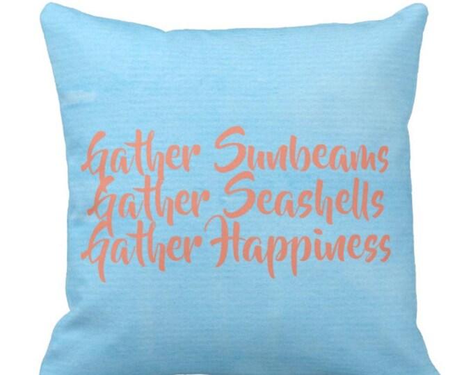 Beach House Decorative Throw Pillow