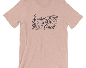 Southern By The Grace of God Short-Sleeve Unisex Bella Canvas T-Shirt