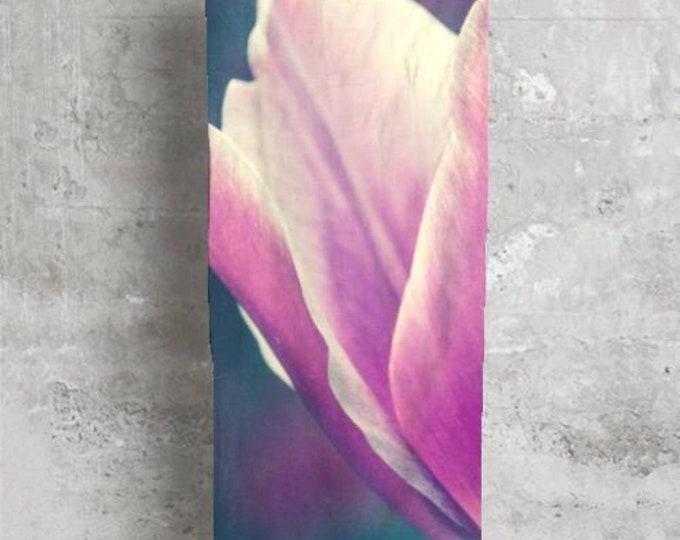 Modal Scarf Purple Tulip