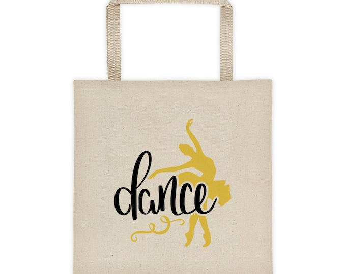 Tote Bag Cotton Canvas Dance