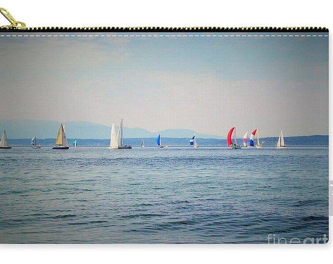 Carry-all Pouch Sailboat Regatta