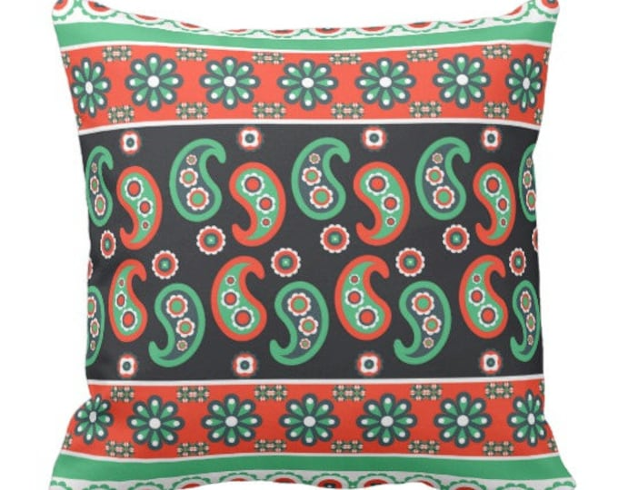 Traditional Indie Pattern Throw Pillow