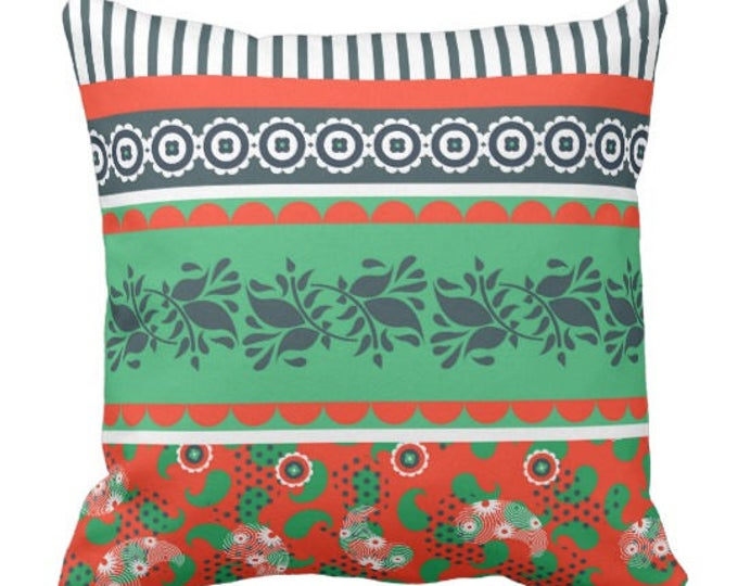 Mix and Match Indie Pattern Pillow Old World Style