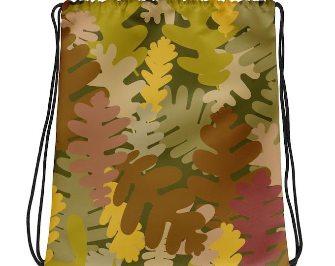 Drawstring Bag Dark Camo