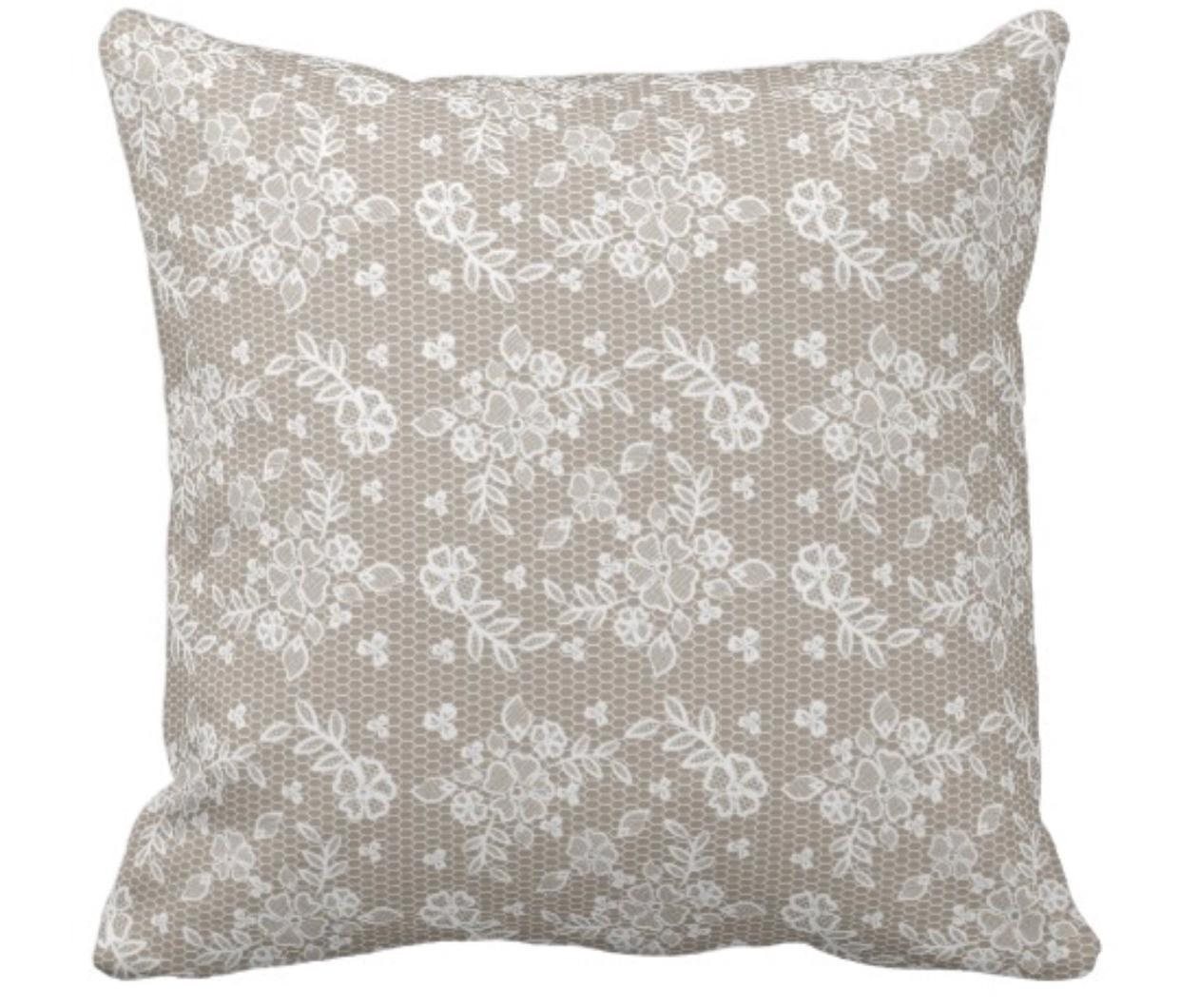 Throw Pillow Rustic Decor Lace Trim Burlap Farmhouse Decor Decorative Pillow Home Decor Pillows Fall Decor Home Sweet Home