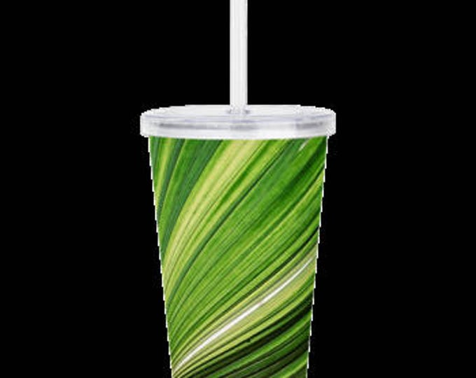 Tropical Island Palm Tumbler