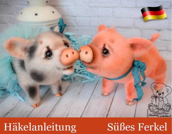 Pig Amigurumi CAL pattern by Brenna Eaves | Häkeln spielzeug ... | 445x570