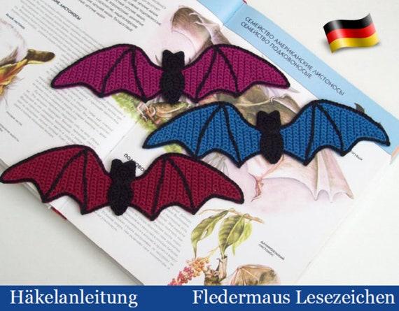 Fledermaus selber häkeln –DIY-Halloween-Deko✓   445x570
