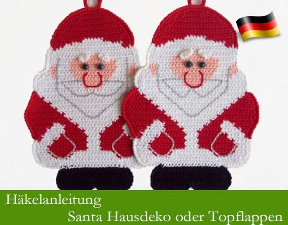 Amigurumi - Weihnachtsmann häkeln - premium & kostenlose ... | 445x570