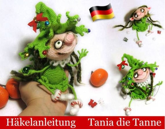 064de Häkelanleitung Puppe Tania Die Tanne Amigurumi Pdf Pertseva Etsy