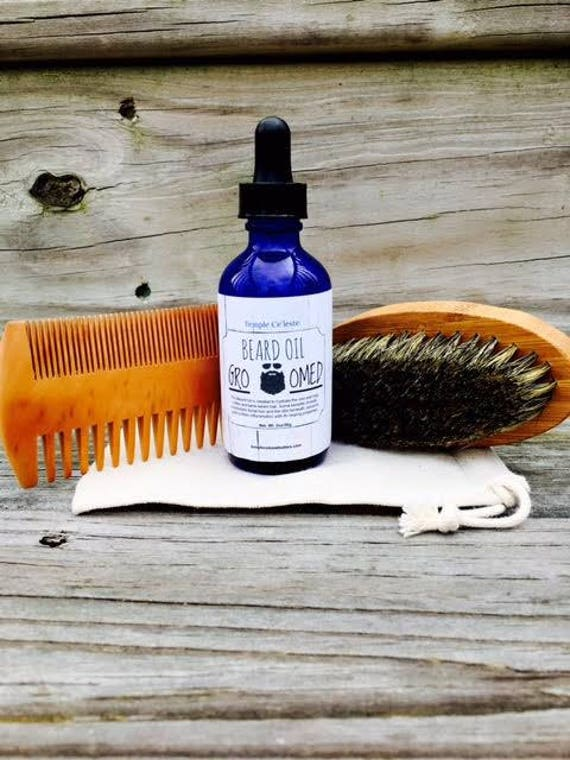 Beard Oil & Grooming Kit