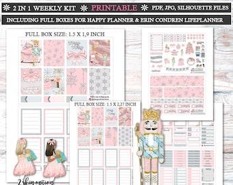 Merry Merry Planner Stickers/Planner Stickers for Erin Condren Lifeplanner/Christmas Weekly kit/Christmas Planner Stickers/Xmas weekly kit