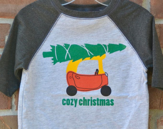 Featured listing image: Christmas tee: cozy christmas.
