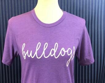 Bulldogs tshirt.