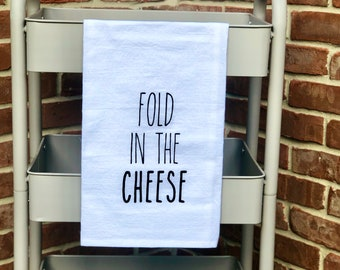 Fold in the cheese
