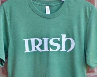 Irish tee. Irish graphic tee. Vintage Irish shirt.