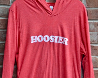 Hoosier hooded tee.