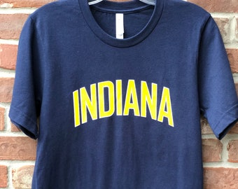 Indiana graphic tee.
