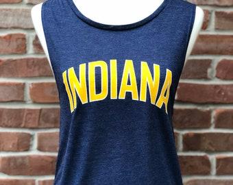 Indiana muscle tee.