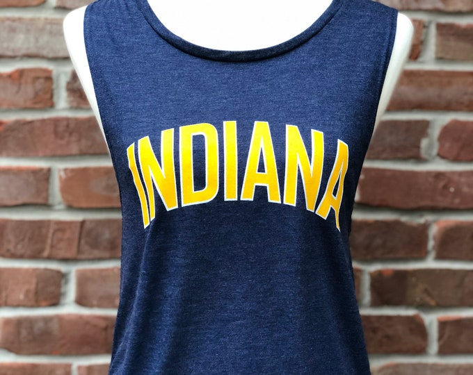 Featured listing image: Indiana muscle tee.