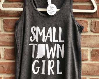 Small Town Girl girls' tank.