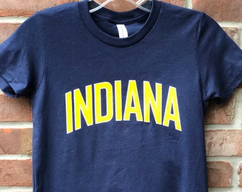 Indiana youth graphic tee.