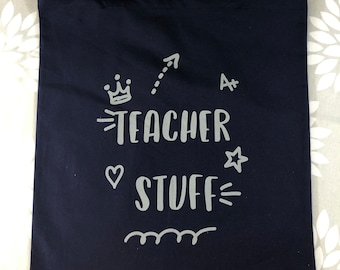 Teacher tote bag.